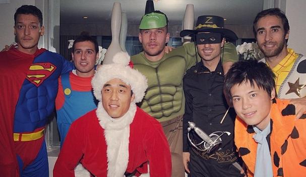 Arsenal Weihnachtsparty