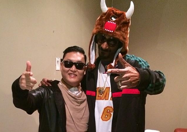 Psy und Snoop Dog