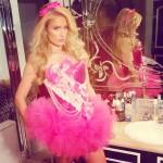 Paris Hilton macht auf Barbie. (Quelle: Instagram)