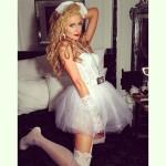 Paris Hilton verkleidet sich als Madonna (Quelle: Instagram)